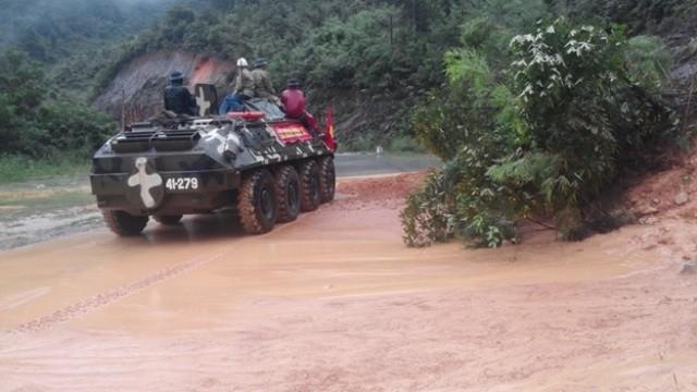 Quảng Ninh: Mưa đã giảm, nước đang rút dần - ảnh 1