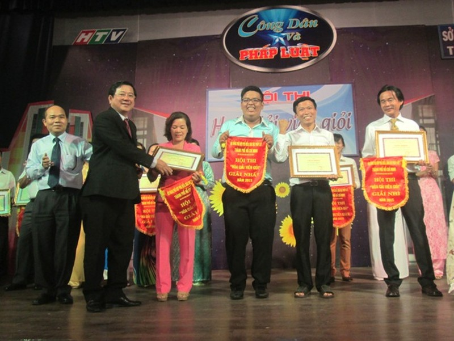 Hội thi 'Hòa giải viên giỏi' năm 2015 - ảnh 2
