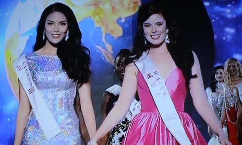 Lan Khuê vào top 11 Hoa hậu Thế giới nhờ khán giả bình chọn  - ảnh 1