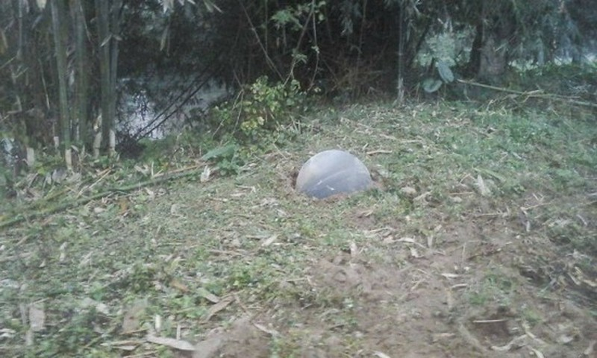 Hai 'vật thể lạ' rơi xuống ở Tuyên Quang, Yên Bái   - ảnh 2