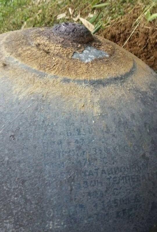Hai 'vật thể lạ' rơi xuống ở Tuyên Quang, Yên Bái   - ảnh 4