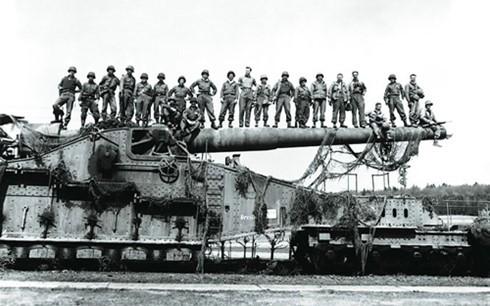 Khẩu pháo siêu khủng của trùm phát xít Hitler - ảnh 2