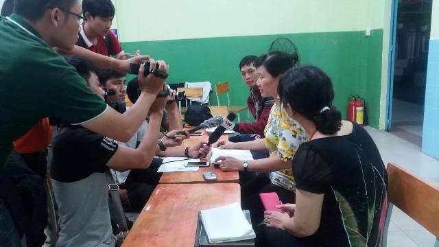 Học sinh Trường Trần Quang Khải, quận 1 ngộ độc sau bữa ăn - ảnh 3