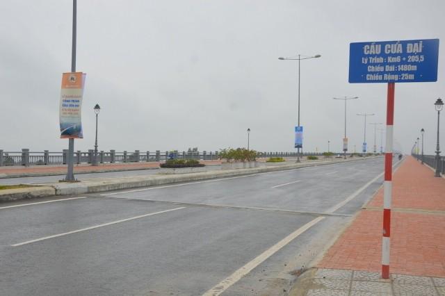 Khánh thành cầu Cửa Đại, rút ngắn khoảng cách Đà Nẵng - Tam Kỳ  - ảnh 1