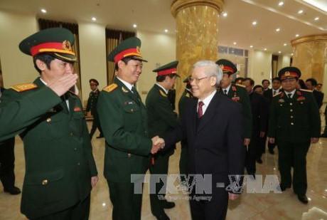 Công bố quyết định của Bộ Chính trị chỉ định Quân ủy Trung ương - ảnh 2