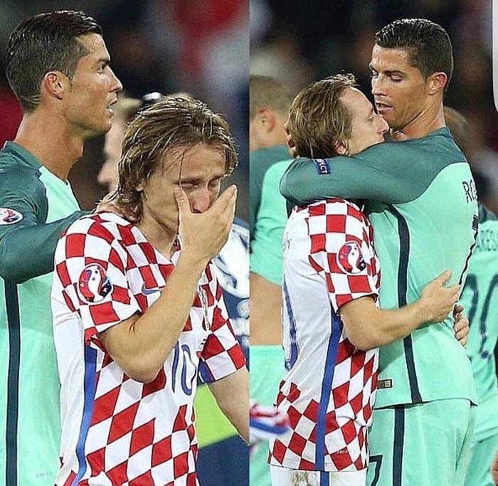 Luka Modric khóc nức nở, Ronaldo, Pepe chạy đến an ủi  - ảnh 2