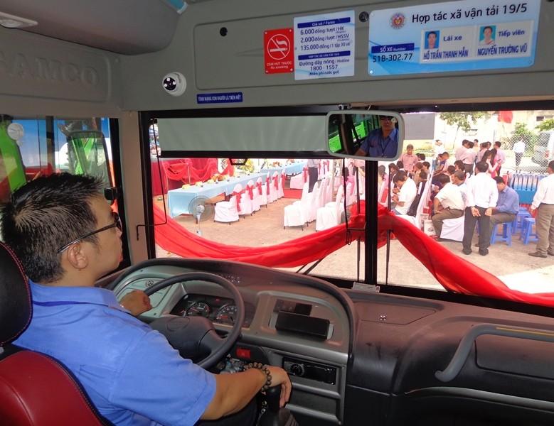 Xe buýt chuẩn đã về 18 thôn vườn trầu - ảnh 9