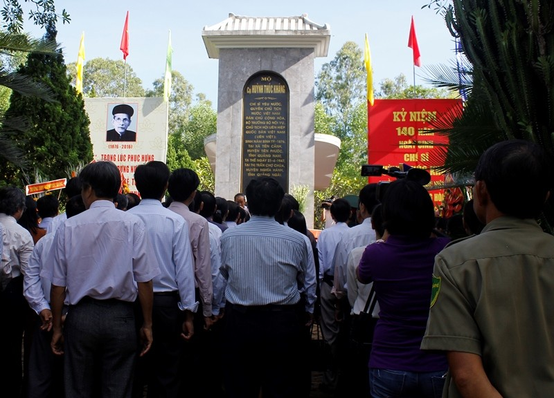 Kỷ niệm 140 năm ngày sinh cụ Huỳnh Thúc Kháng - ảnh 1
