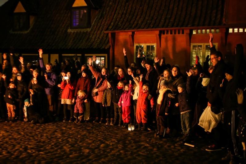 Chùm ảnh: Người dân Bắc Âu chào đón Giáng sinh 2016 - ảnh 17