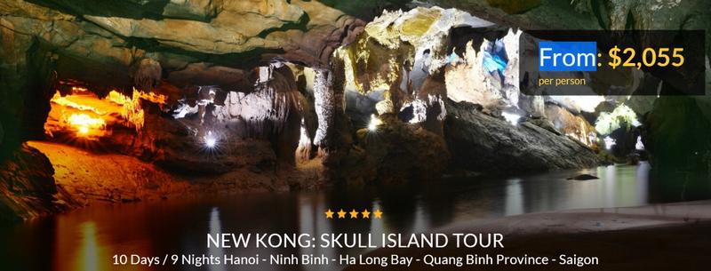 """Xuất hiện tour du lịch theo dấu """"Kong: Skull island"""" - ảnh 2"""
