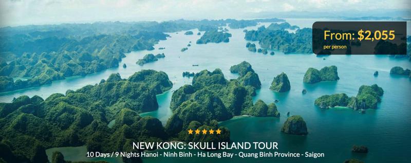 """Xuất hiện tour du lịch theo dấu """"Kong: Skull island"""" - ảnh 3"""