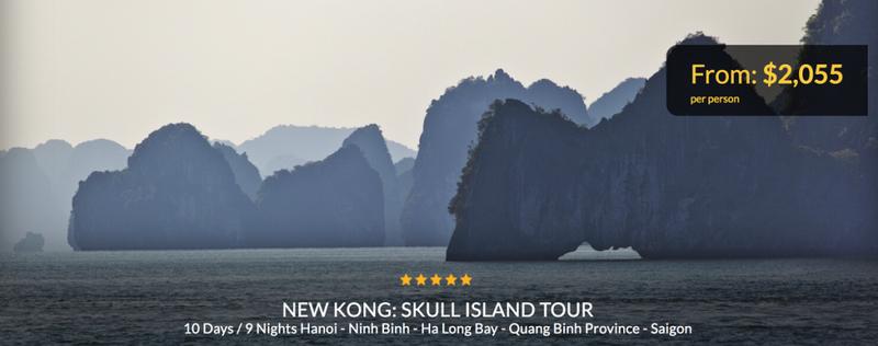 """Xuất hiện tour du lịch theo dấu """"Kong: Skull island"""" - ảnh 4"""