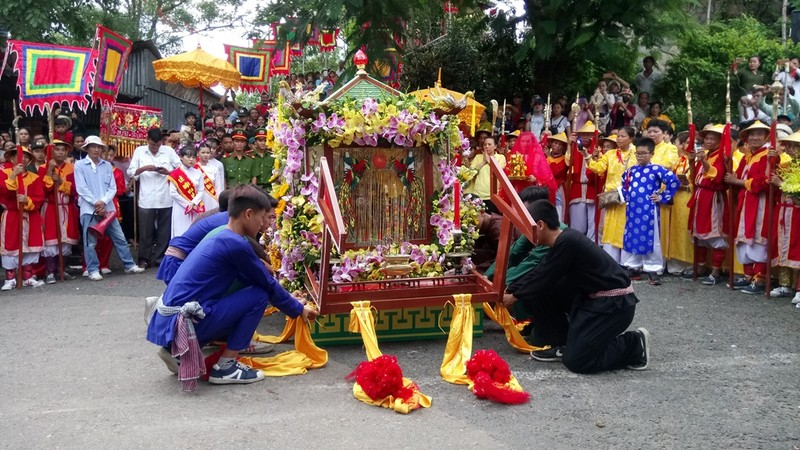 Phục dựng lễ rước tượng Bà Chúa Xứ núi Sam - ảnh 8