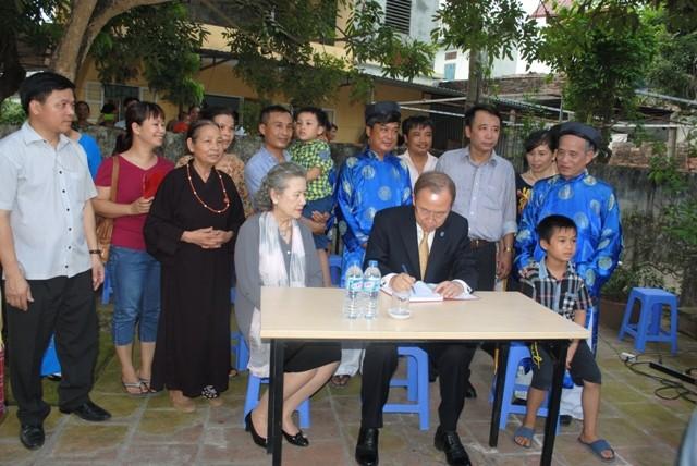 Tâm sự người chụp ảnh ông Ban Ki-moon tại nhà thờ họ Phan Huy - ảnh 2