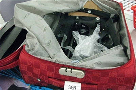 Thủ đoạn vận chuyển ma túy qua đường hàng không ngày càng tinh vi - ảnh 1