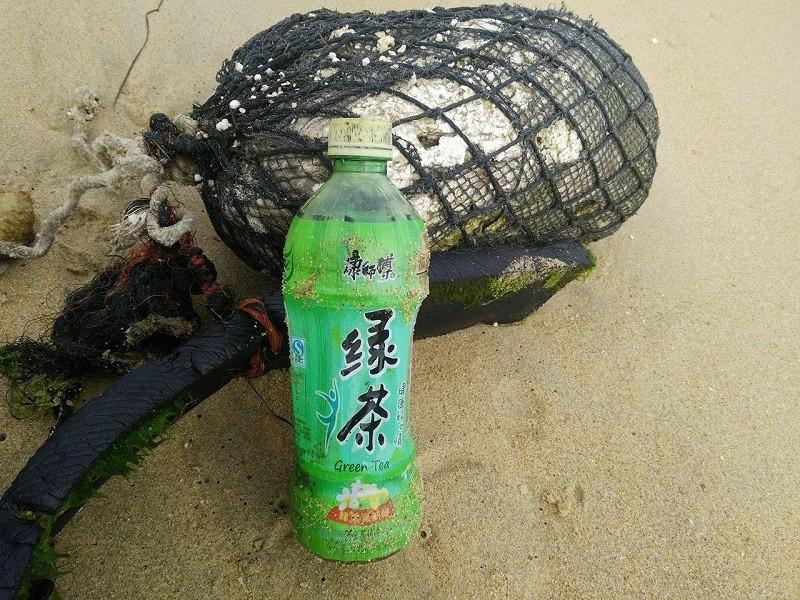 10 km bờ biển ngổn ngang vỏ chai nhãn Trung Quốc - ảnh 8