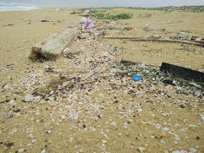 10 km bờ biển ngổn ngang vỏ chai nhãn Trung Quốc - ảnh 10