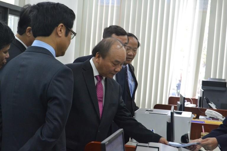 Thủ tướng dự khai trương TT hành chính công Quảng Nam - ảnh 1