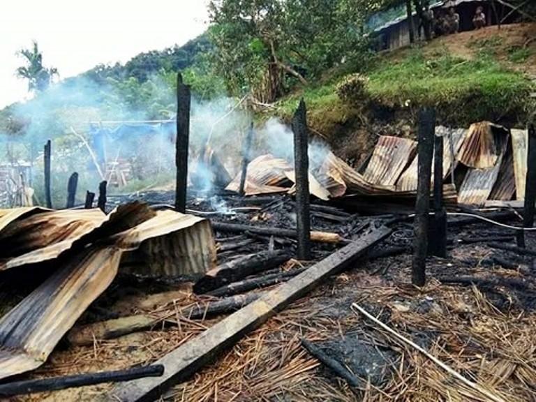 Cả nhà suýt chết vì nhóm lửa sưởi ấm - ảnh 1