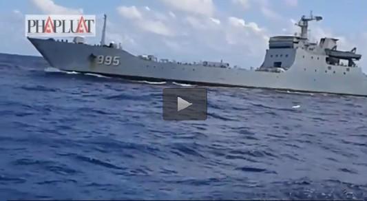 Báo cáo Bộ GTVT vụ tàu Hải Đăng 05 bị tàu chiến Trung Quốc đe dọa - ảnh 1
