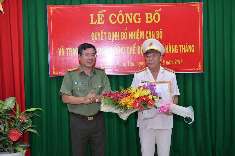 Bổ nhiệm thêm một phó giám đốc Công an tỉnh Bà Rịa-Vũng Tàu - ảnh 1