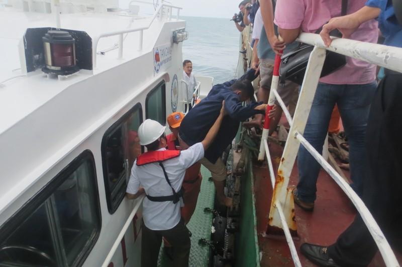 Cảng vụ Hàng hải Vũng Tàu điều tra vụ tàu Thành Đạt 01 bị chìm - ảnh 1