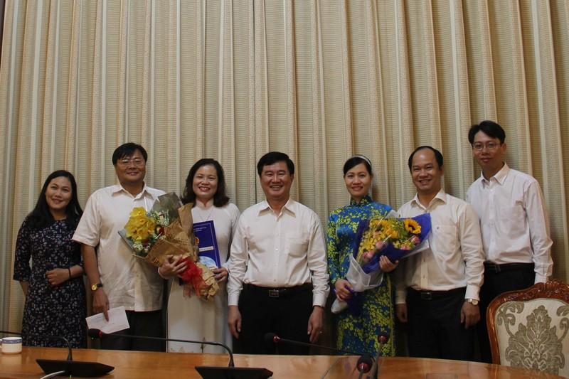 Bà Nguyễn Thị Hồng Hạnh làm phó giám đốc Sở Tư pháp TP  - ảnh 2