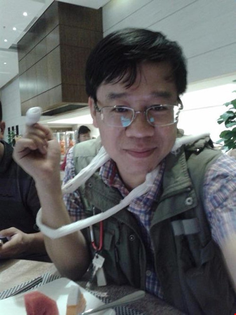 Audio: Nhà báo chuyên trách điều tra của báo Lao Động bị hành hung - ảnh 1