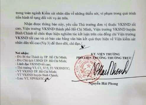 Người trực tiếp ký quyết định truy tố chủ quán Xin Chào bị tạm đình chỉ - ảnh 2