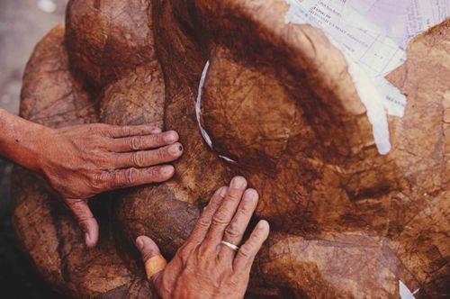 Công phu nghề làm đầu Lân ở đất cố Đô - ảnh 12