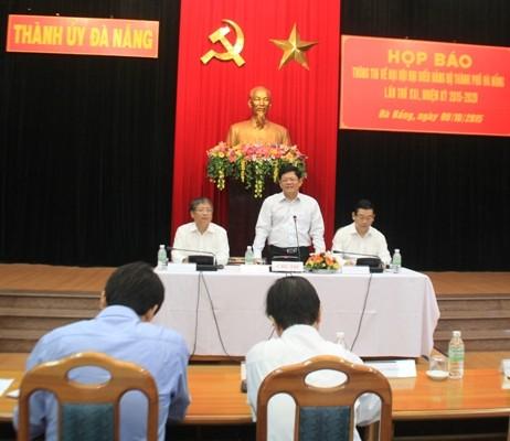 Đại hội Đảng bộ Đà Nẵng: Hơn 44% đại biểu là tiến sĩ, thạc sĩ  - ảnh 1