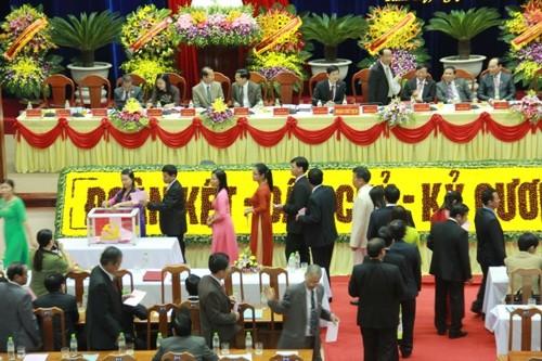 Quảng Nam: 56 người vào ban chấp hành khóa mới nhiệm kỳ 2015-2020 - ảnh 1