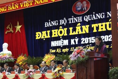 Khai mạc Đại hội Đảng bộ tỉnh Quảng Nam lần thứ XXI - ảnh 2