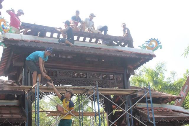 Đà Nẵng: Bắt đầu tháo dỡ biệt phủ 100 tỉ tại rừng Hải Vân - ảnh 1