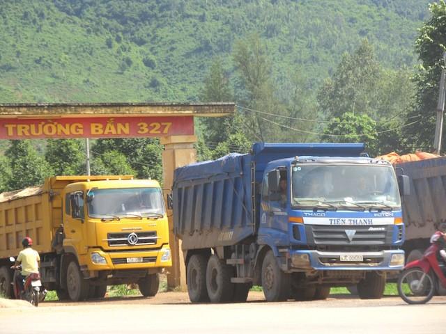 Đà Nẵng siết chặt quản lý các công ty vận tải khoáng sản - ảnh 1
