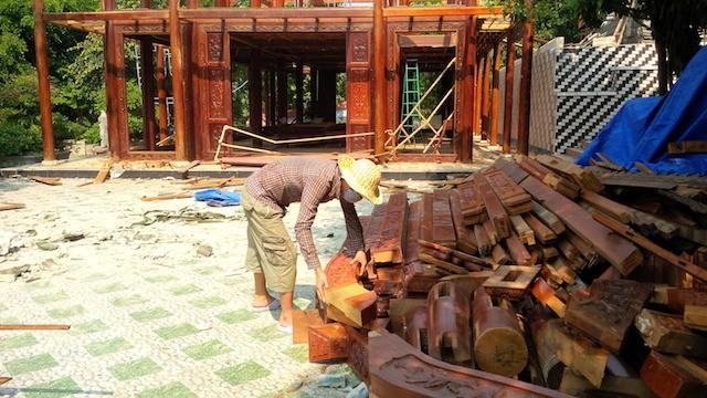 Đà Nẵng: Biệt phủ 100 tỉ sắp tháo dỡ xong - ảnh 5