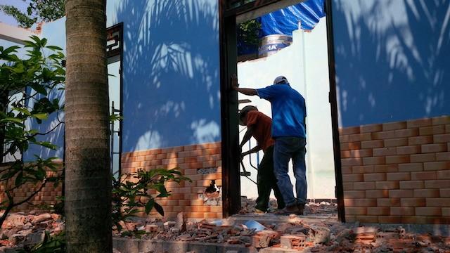 Đà Nẵng: Biệt phủ 100 tỉ sắp tháo dỡ xong - ảnh 1