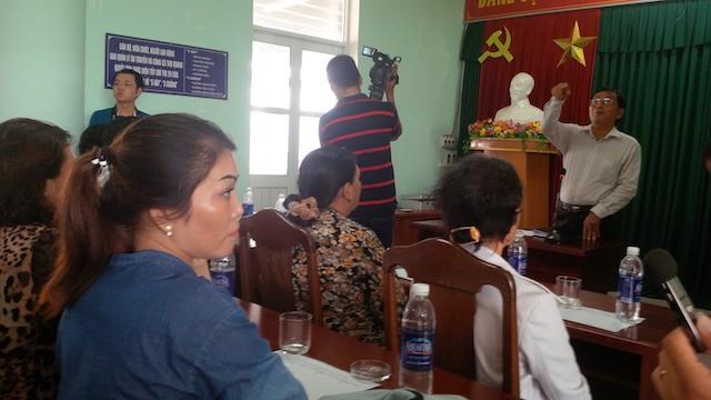 Đối thoại với ngư dân Đà Nẵng về vụ cá chết - ảnh 1