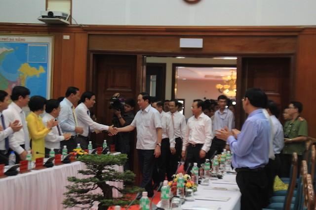 Chủ tịch nước: Làm được như Đà Nẵng, có khi Bộ Công an phải thu hẹp lại - ảnh 1