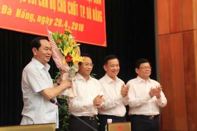 Chủ tịch nước: Làm được như Đà Nẵng, có khi Bộ Công an phải thu hẹp lại - ảnh 3