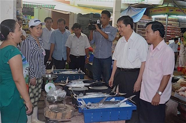 Đà Nẵng: Chính thức đưa cá sạch ra các chợ bán cho dân - ảnh 1