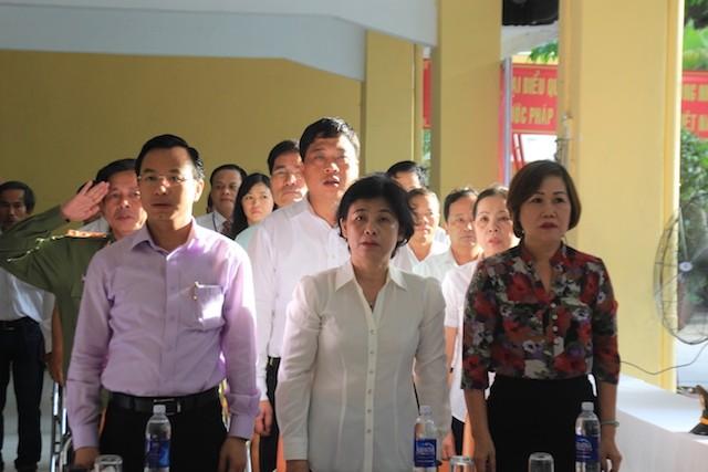Bí thư Thành ủy Đà Nẵng Nguyễn Xuân Anh bỏ phiếu đầu tiên - ảnh 4