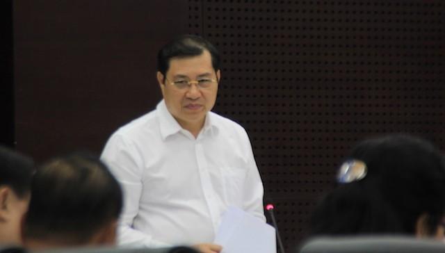 Ông Huỳnh Đức Thơ, Chủ tịch UBND TP Đà Nẵng kiến nghị tăng thêm 100 bàn đánh bạc. Ảnh: LÊ PHI.