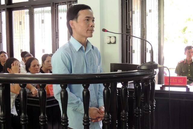 ị cáo Nguyễn Văn Thắng tại phiên tòa
