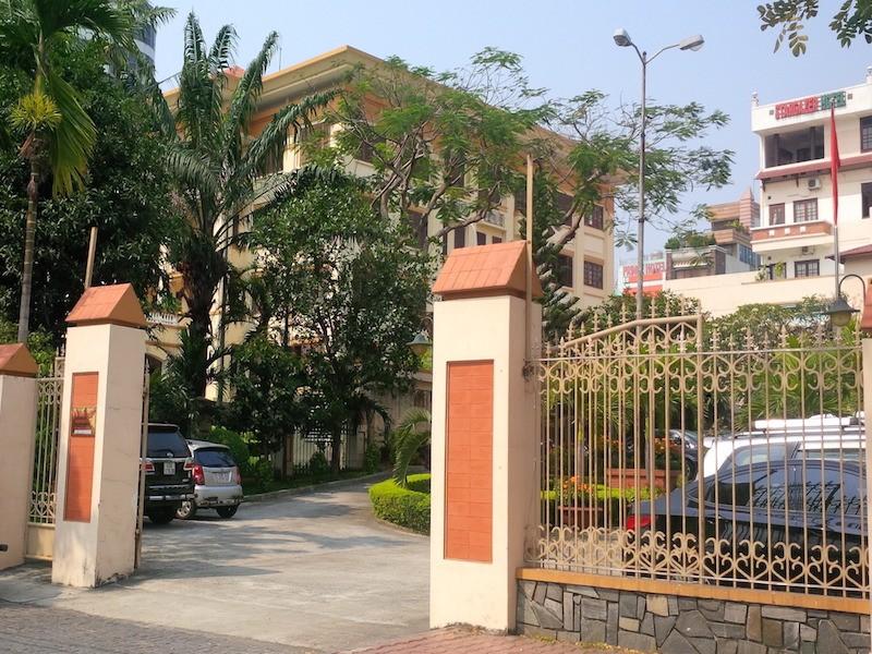 Trụ sở của UBMTTQVN TP Đà Nẵng sẽ nhường cho Thành uỷ mở rộng trụ sở. Ảnh: LÊ PHI.