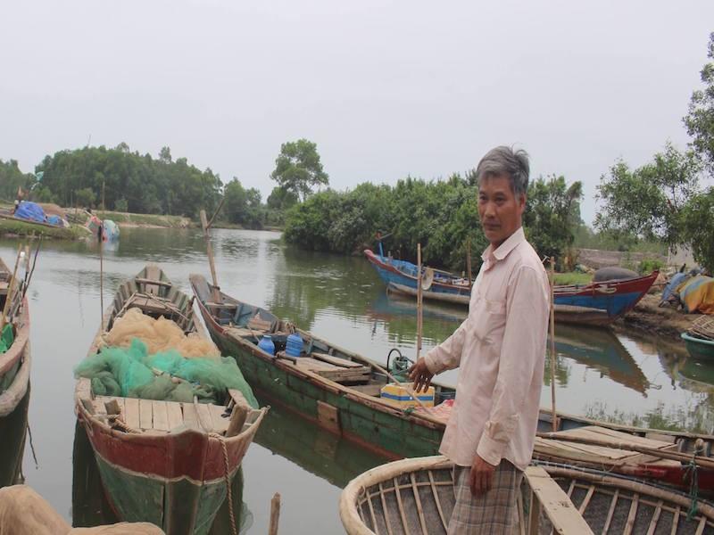 Ngư dân Lộc Vĩnh (huyện Phú Lộc, tỉnh Thừa Thiên Huế) vẫn đang ngóng chờ hỗ trợ sau sự cố môi trường biển. Ảnh: NGUYỄN DO.