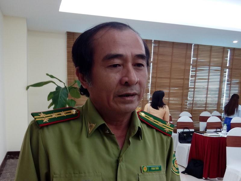 Ông Phan Tuấn, Chi cục trưởng Chi cục kiểm lâm Quảng Nam cho biết, kiểm lâm sẽ rút để biên phòng quản lý luôn rừng vùng biên. Ảnh: LÊ PHI.