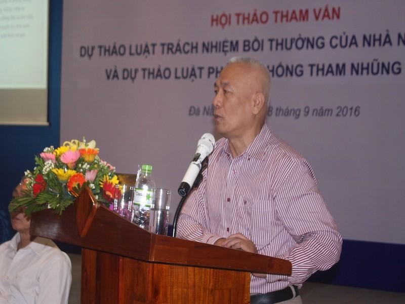 """GS Nguyễn Đăng Dung: Tham nhũng như một """"dịch bệnh"""" - ảnh 1"""