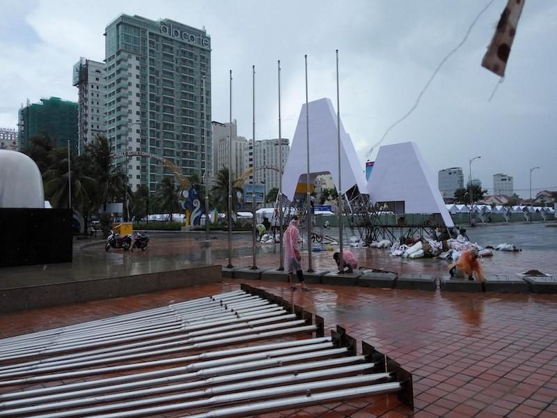 Đà Nẵng: Đại hội thể thao bãi biển 'chạy' bão - ảnh 2