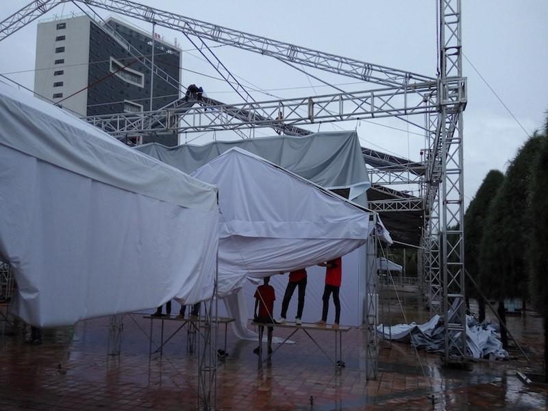 Đà Nẵng: Đại hội thể thao bãi biển 'chạy' bão - ảnh 3